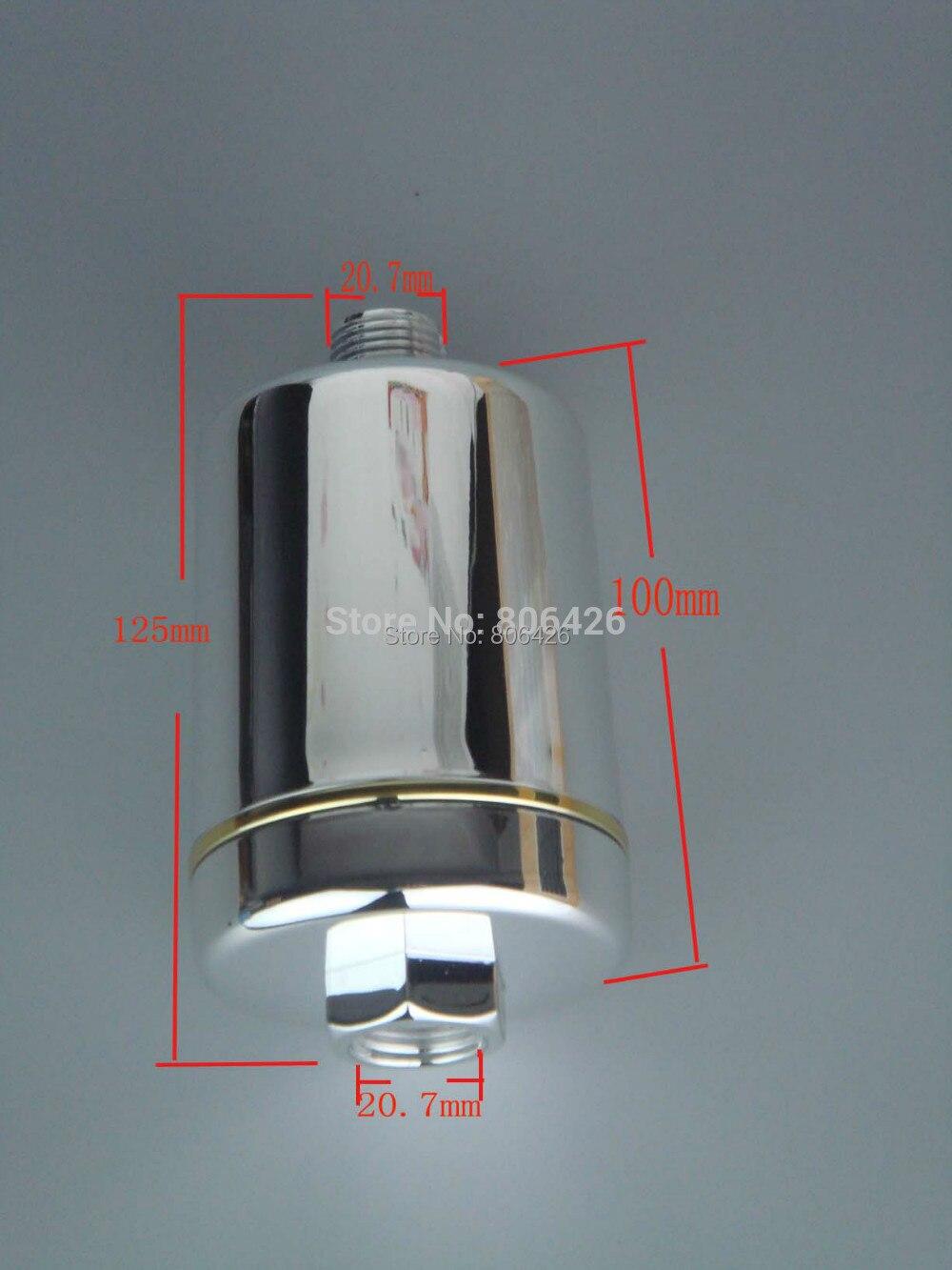 Фильтр для душа без химических веществ/насадка для душа Спа/очиститель воды с комбинированным углеродным и KDF материалом для wippe от хлора и