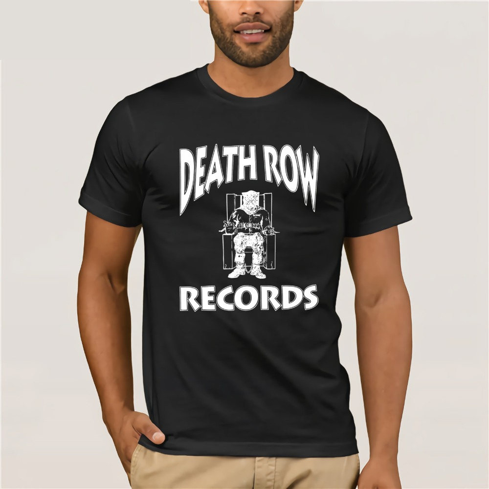 Cool Tee Shirt 2019 DEATH ROW RECORDS SNOOP DRE GANGSTER RAP CLASSIC SUGE KNIGHT 90S COMPTON Graphic T Shirt For T-Shirt Fors