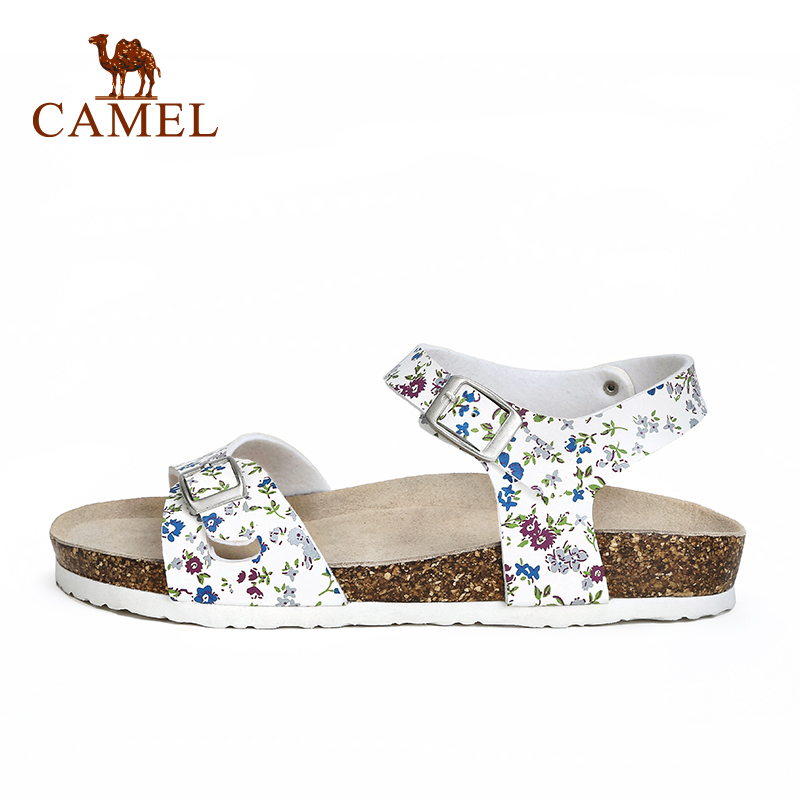 2017 new camel outdoor female sandals floral fresh and comfortable ladies sandals beach shoes A72289607 aamir sarwar and sherwan asif camel ratings application