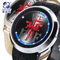 FFF grupos reloj LED de Los Hombres Relojes de Lujo Casual Hombres Analógico Reloj Deportivo Digital Militar Masculino Del Relogio masculino