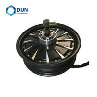 Cheap Powerful 12x3.5inch 5000W 260 45H 90kmh Electric Motorcycle Hub Motor