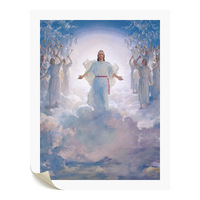 1 Piece Christian Painting The Second Coming Saint Jesus Canvas Art Print Giclee Prints For Living