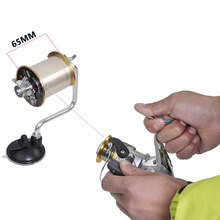 Portable Fishing Line Winder Fishing Reel Spool Spooler System Tackle Tools Fishing Accessories Suction Cup Sea Carp ecooda fishing line spooler portable reel spool spooling station system for spinning or baitcasting fishing reel line winder