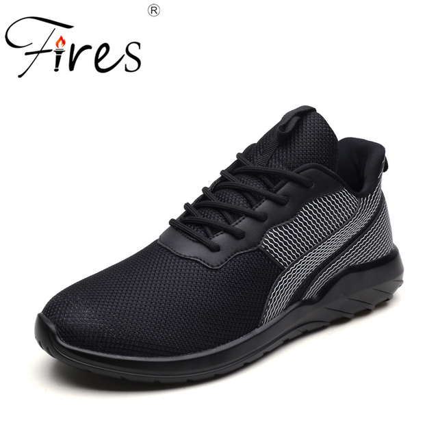 Fires Men Running Shoes Summer Breathable Sport Shoes Outdoor Soft Walking Sneakers  Lightweight Black White Man s Sneaker fbc3c1f568d0