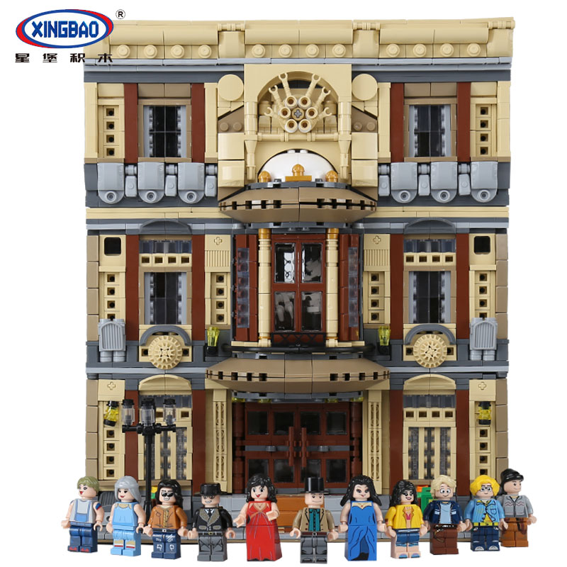 XingBao 01005 Genuine Creative MOC City Series The Maritime Museum Set Children Building Blocks Bricks legoing Toys Model Gifts maritime safety