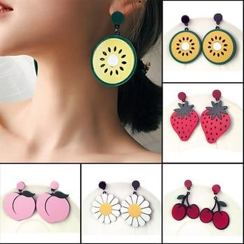 Boucles d'oreilles décoration fruit Boucles d'oreilles Bella Risse https://bellarissecoiffure.ch/produit/boucles-doreilles-decoration-fruit/