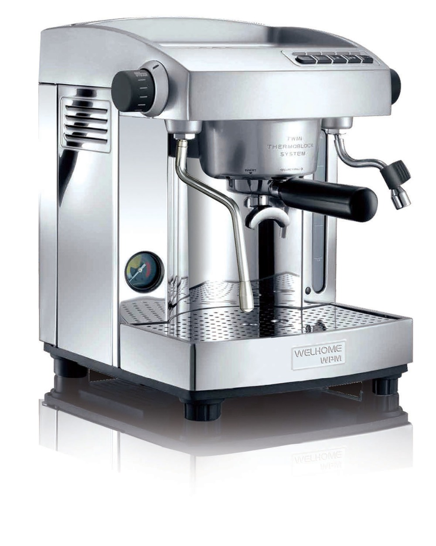 WPM Espresso Cafe Machine Professional KD 210S2 Twins Thermo block Espresso Machine Coffee Maker House Use or small Coffee Shop