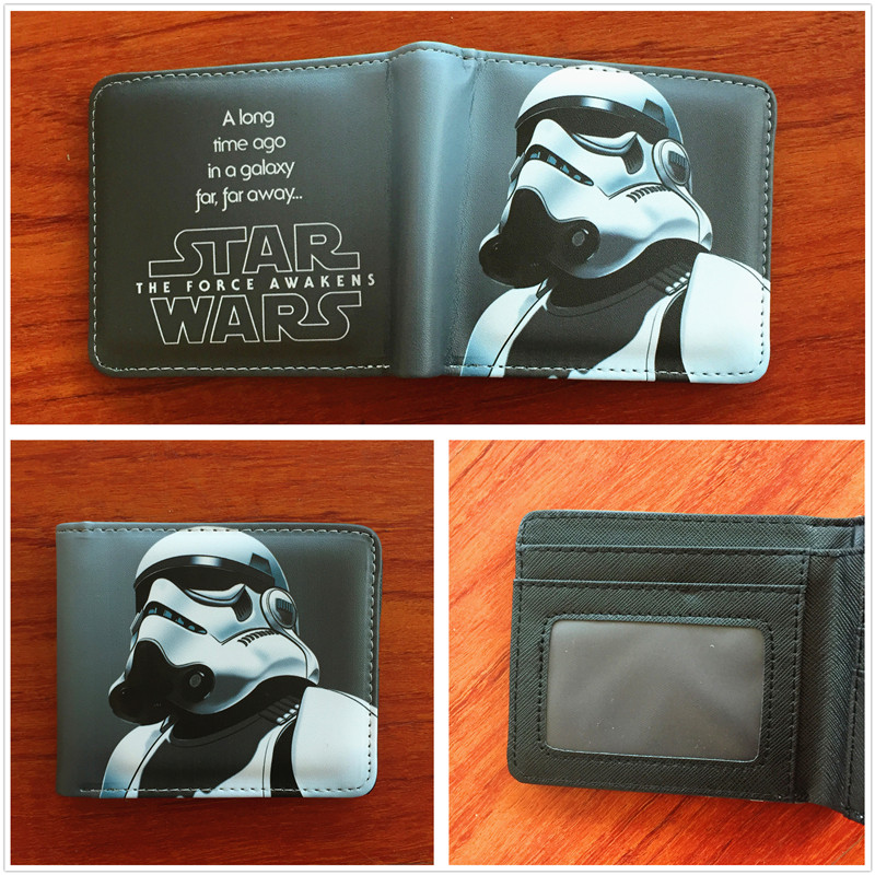 New arrivel marvel Star wars wallet high quality PU folding purse coin wallet card holder W600 manuel ritz пиджак
