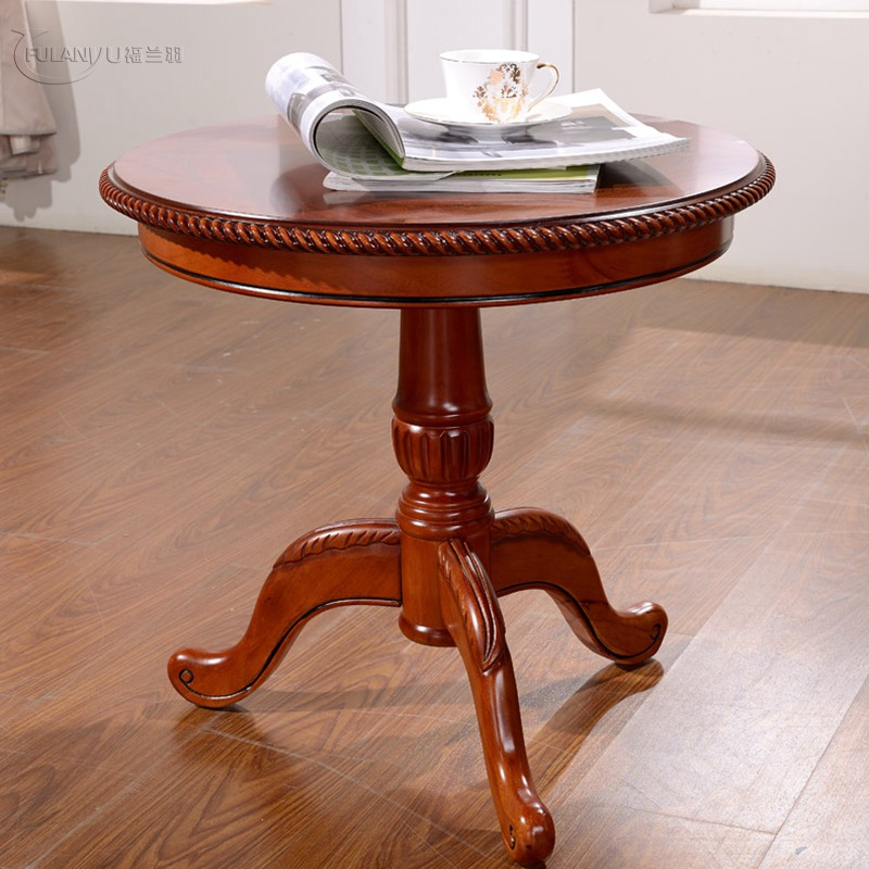 Tea table solid wood coffee living room