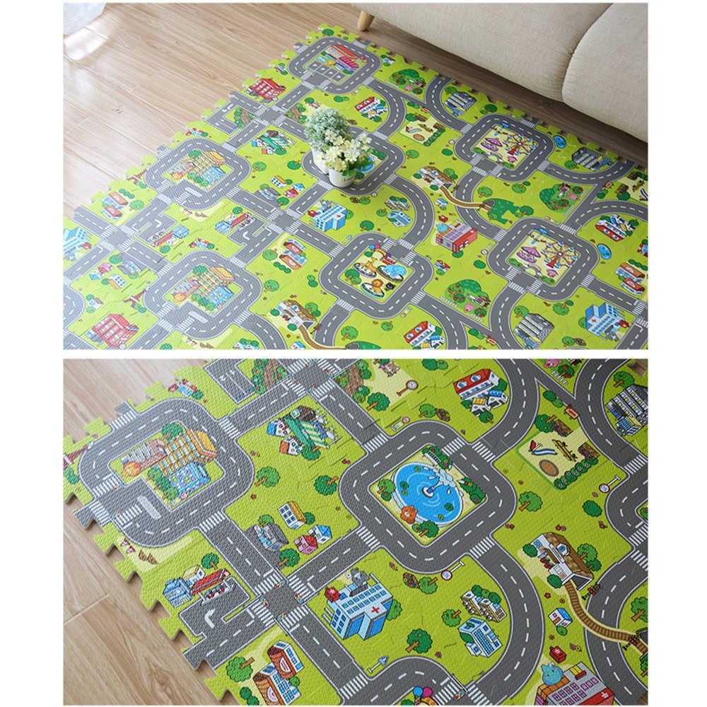 Детский коврик для ползания ковер для детей развивающий коврик для детская игрушка игровой коврик для детей игрушки головоломка eva пена игровой коврик дропшиппинг