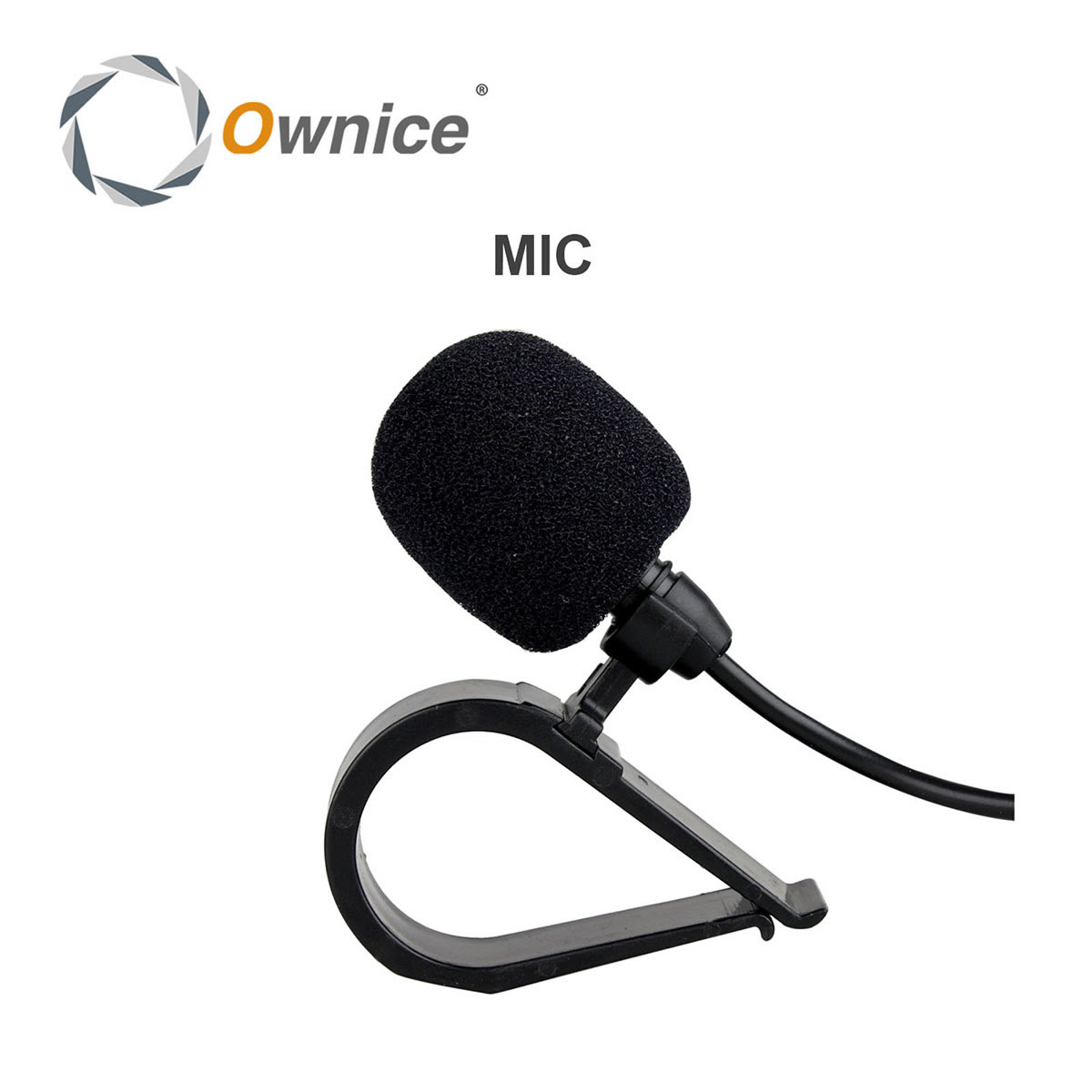 High Quality! Special Black Hands Free Clip on 3.5mm Mini Studio Speech Microphone harman kardon onyx studio 2 black
