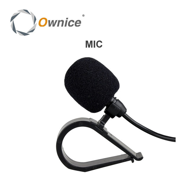 High Quality! Special Black Hands Free Clip on 3.5mm Mini Studio Speech Microphone