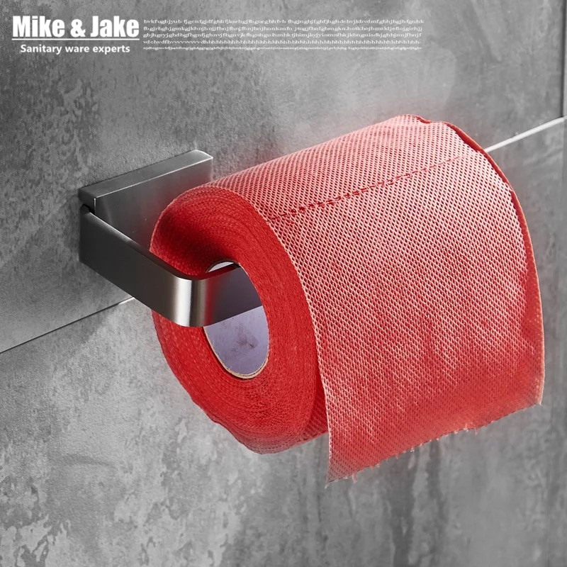 Bathroom Accessories Products Solid SUS304 brush Toilet Paper Holder,Roll Holder,Tissue Holder Without Cover toilet paper holder roll holder tissue holder bathroom accessories products