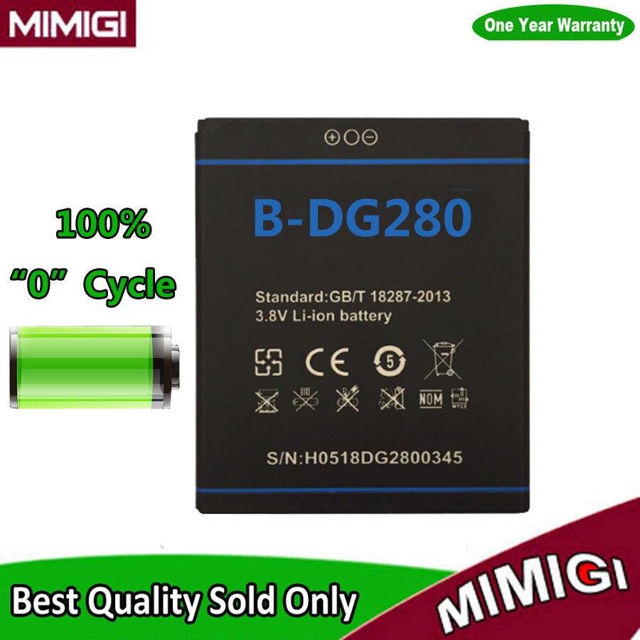 JESSQUE 0 Cycle 1800 mAh B-DG280 Accumulateur Pour Doogee LEO DG280 Batterie Batterie Batterij AKKU ACCU AKU