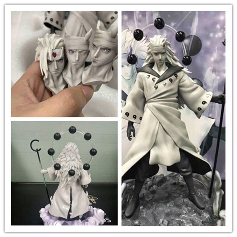 Novo anime gk uchiha madara figuras de ação modelo brinquedos 28 cm
