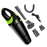 Car Vacuum Cleaner 12V 120W High Powerful Wet And Dry Clean Mini Portable Handheld Home Auto Car Electronic Accessories