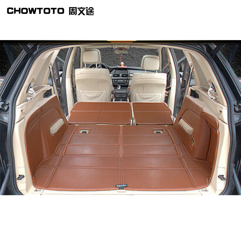 CHOWTOTO AA Special Trunk Mats For BMW X5 7seats Durable