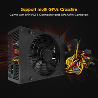 1800W Switching Power Supply 90 High Efficiency For Ethereum S9 S7 L3 Rig Mining 180 260V