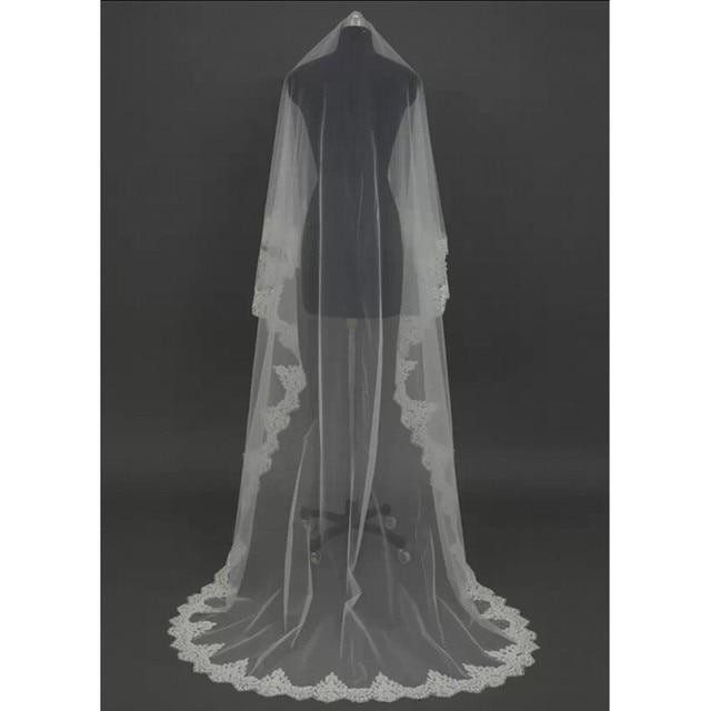 Long Veils   Meters Wedding Accessories Custom Made Wedding Veils Veu De Noiva