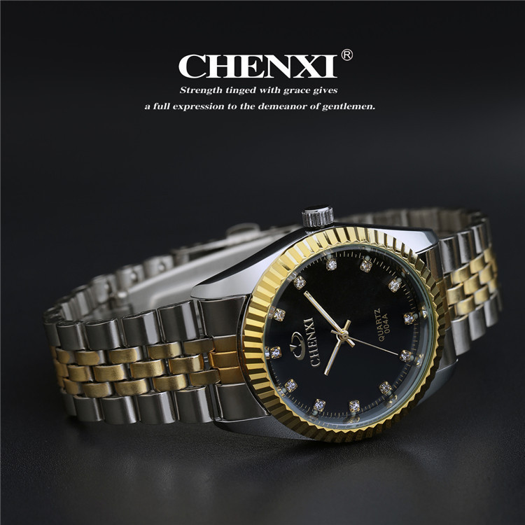 Couples Quartz Watch, Men's & Women's Watches, 30m Waterproof Wristwatches 25