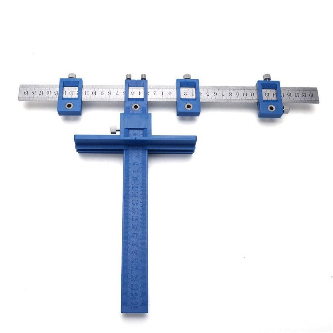 Herrajes para gabinete herramienta de posición verdadera más rápida y precisa perilla y tirador Jig perforación de madera orificio Sierra maestro Syst
