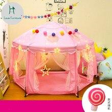Луи Мода детские кровати игра в помещении дом ребенок Сплит кровать артефакт шесть угол замок складной игрушка