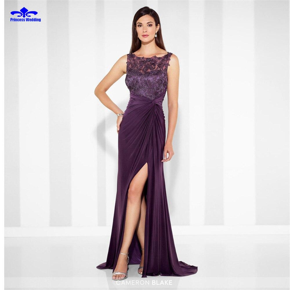 Recta larga Spandex Vestido de Noche robe de soirée 2017 Nueva Festoneado Elegan