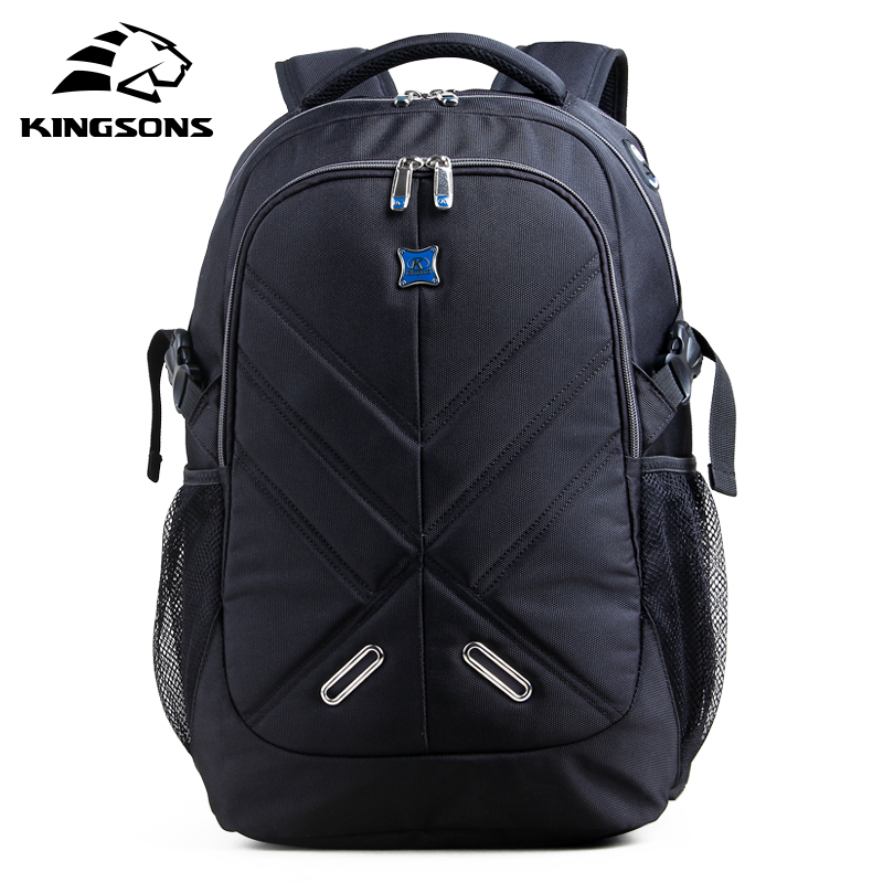 NEW Kingsons Shockproof Laptop Backpacks Male Bag Large Capacity Notebook Bagpack Teenager Boy Mochila Militar School Bags new notebook laptop keyboard for asus gfx70js gfx70jz french fr layout