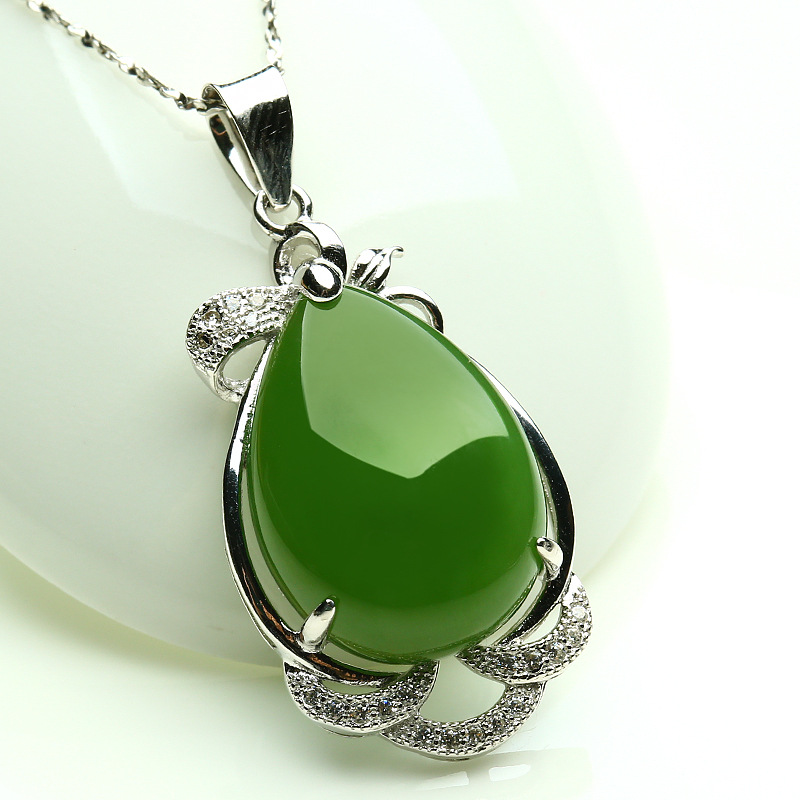 1PC/ Fashion and the tian bi stone the pendant of the men and women of the pendant necklace hang rope 1PC/ Fashion and the tian bi stone the pendant of the men and women of the pendant necklace hang rope
