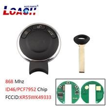 433MHz/868MHz/315Mhz 3Buttons Smart Remote Key Keyless Fob For BMW MINI KR55WK49333 3Buttons For BMW MINI 2007-2014 f17009 oplink 433mhz mini air