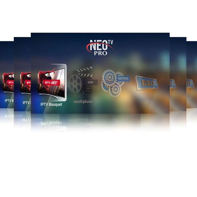 Neotv Iptv subscription french italian spanish Europe portugal albania Ex-yu polish iptv code