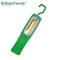 Work examining light 3 w cob strong magnet portable hook car emergency light rubber tent camping night lighting flashlight