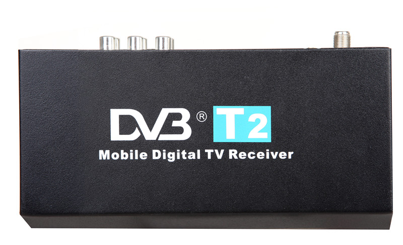 DVB-T2 Mobile Digital TV Box Digital TV Receiver For Car Android DVD GPS Radio Player Car Stereo hot digital car tv tuner dvb t2 car tv receiver hdmi 1080p cvbs dvb t2 support h 264 mpeg4 hd tv receiver for car free shipping