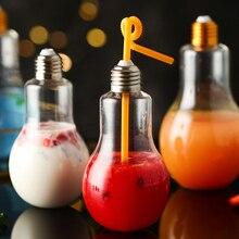 TUUTH Creative Light Bulb Water Bottle Leakproof 300/500ml W