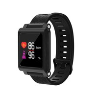 Waterproof Smartband K8 Blood Pressure Heart Rate Monitor Fitness Tracker Steps Riding Run Swim Smart Watch IP68 Smartwatch Men