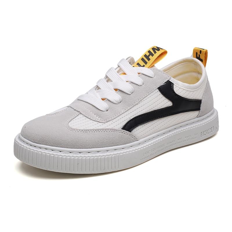 ZENVBNV Moda Zapatos de Malla Transpirable Hombres Retro Con Cordones - Zapatos de hombre - foto 2