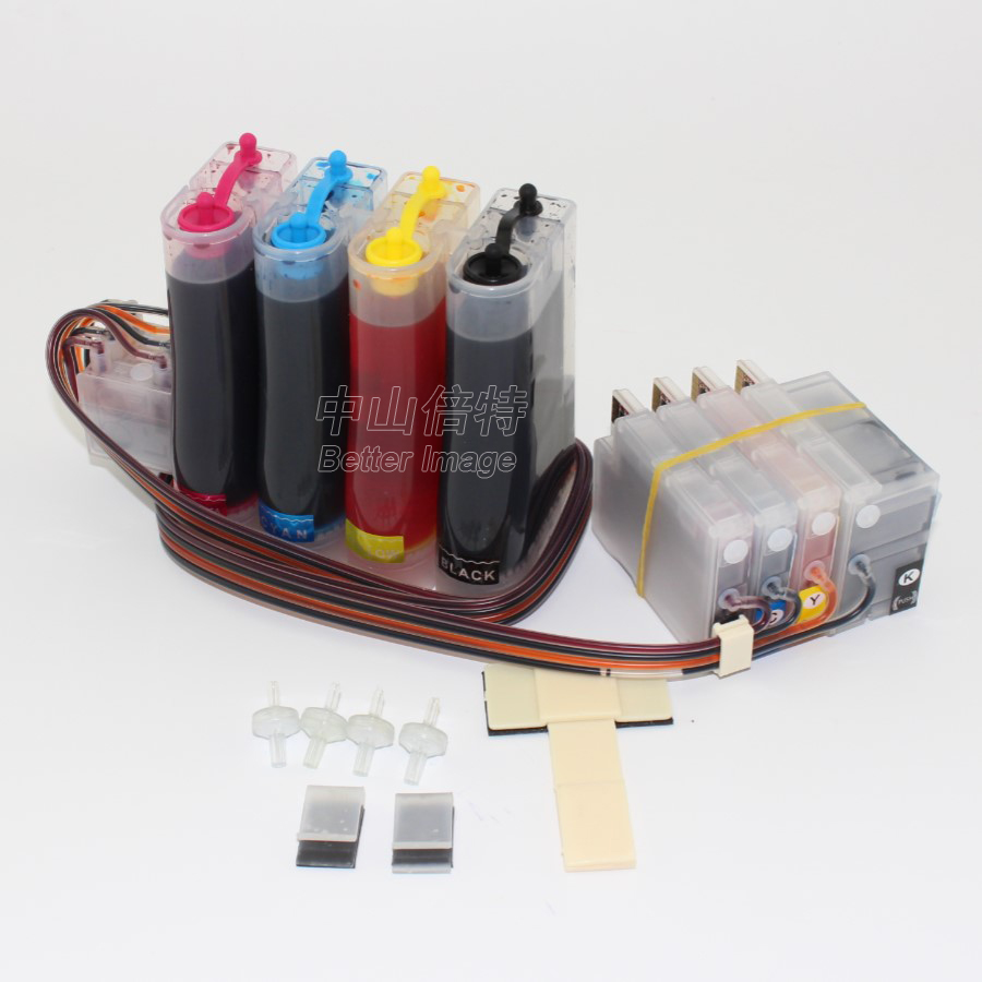 Full ink CISS  with permanent chips for HP950 951 suitable for  HP 8100 8600 etc. 4 colors with full specialized ink full ciss suit for hp 920 suit for hp 6000 6500 7000 7500 with auto reset chips