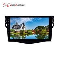 Ips 2.5D 9 дюймов Большой Экран Восьмиядерный T8 Android 8,1 dvd плеер автомобиля для Toyota Rav 4 RAV4 2007 2011 радио GPS навигационная система ГЛОНАСС