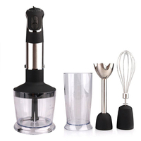 4 en 1 Blender Hand kitchen 900W 600ml Mixer Food processor Household use 12 modes Low noise level