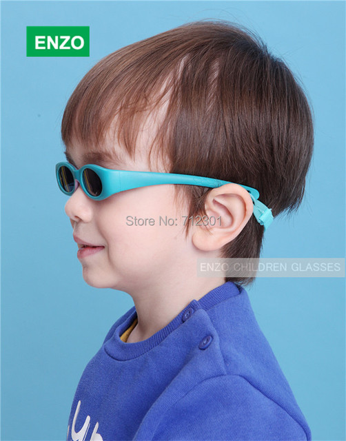 9516f670c Flexible Baby Boy Sunglasses with Strap, UVA UVB Infant Girls Sun Glasses &  Cord, Toddler Sporting Sunshield