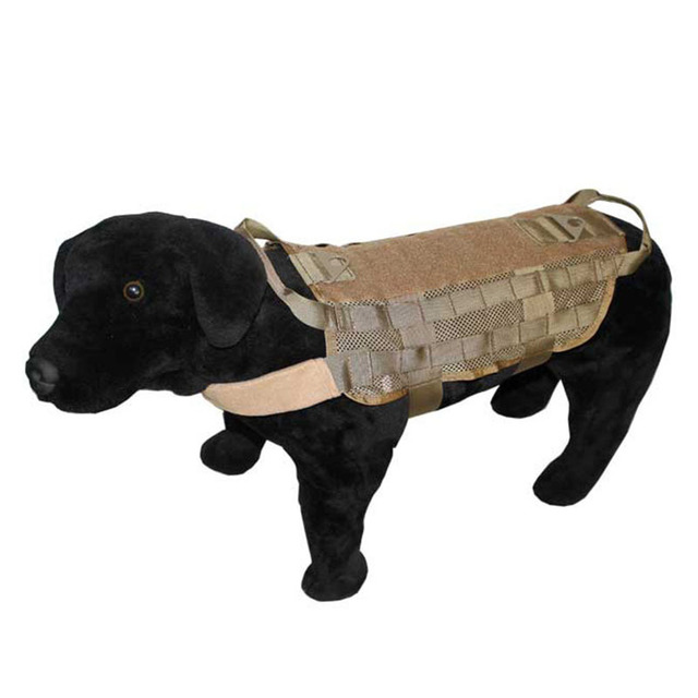 Durable Tactical Police Dog Training Molle Vest Load Bearing Harness