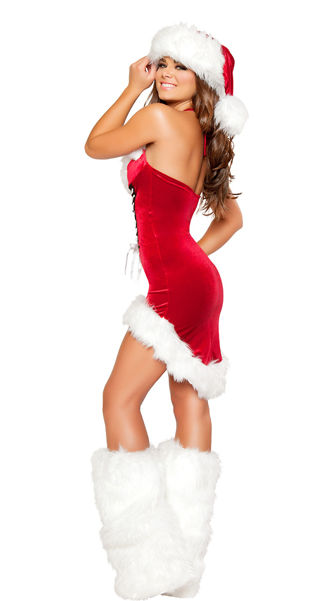 Wholesale Free Pu0026P Sexy Lady Cute Santa Christmas Party New Year Costume Fancy Dress Trumpet Outfit Fit Well Size S/M XD11-in Dresses from Womenu0027s Clothing ...  sc 1 st  AliExpress.com & Wholesale Free Pu0026P Sexy Lady Cute Santa Christmas Party New Year ...