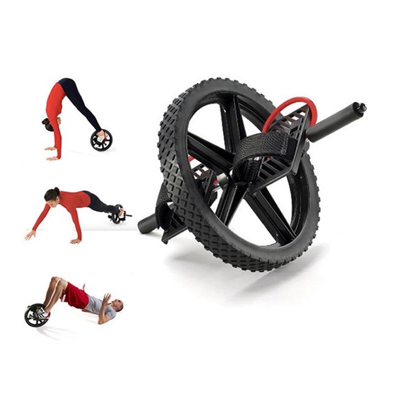 Rueda de potencia ruedas de entrenamiento de núcleo definitivo rueda Abdominal Ab rodillo para gimnasio ejercicio equipo de Fitness