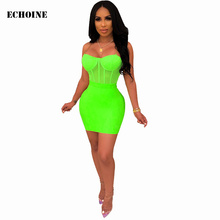 Chain Spaghetti Strap Sheer Mesh Bodycon Skirt Set Sexy Transparent Mini Skirt Club Outfits Skinny Party Bodysuit and Mini Skirt sheer mesh insert zip back fishtail skirt