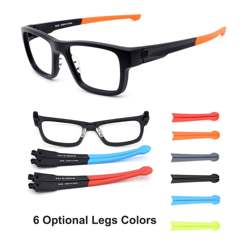 853f0106cab Detail Feedback Questions about Legs Changable Glasses Frame Tr 90 Plastic Optical  Eyeglasses with Colorful Optional Temple Arms Flexible Unisex Fashion ...