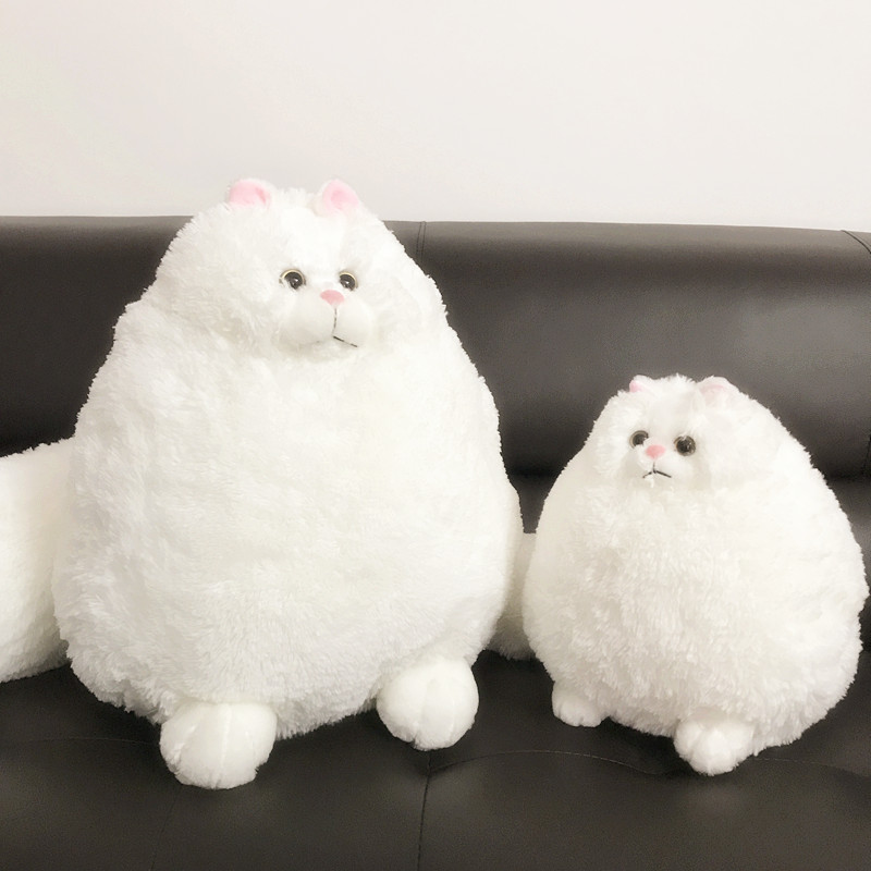 Sitting 30cm Cute Persian Cat Toy Cushion Super Soft Cartoon Cat Sofa Pillow Pet Cat Play Gift