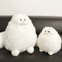 sitting 30cm Cute Persian Cat Toy Cushion Super Soft Cartoon Cat Sofa Pillow Pet Cat Play Gift