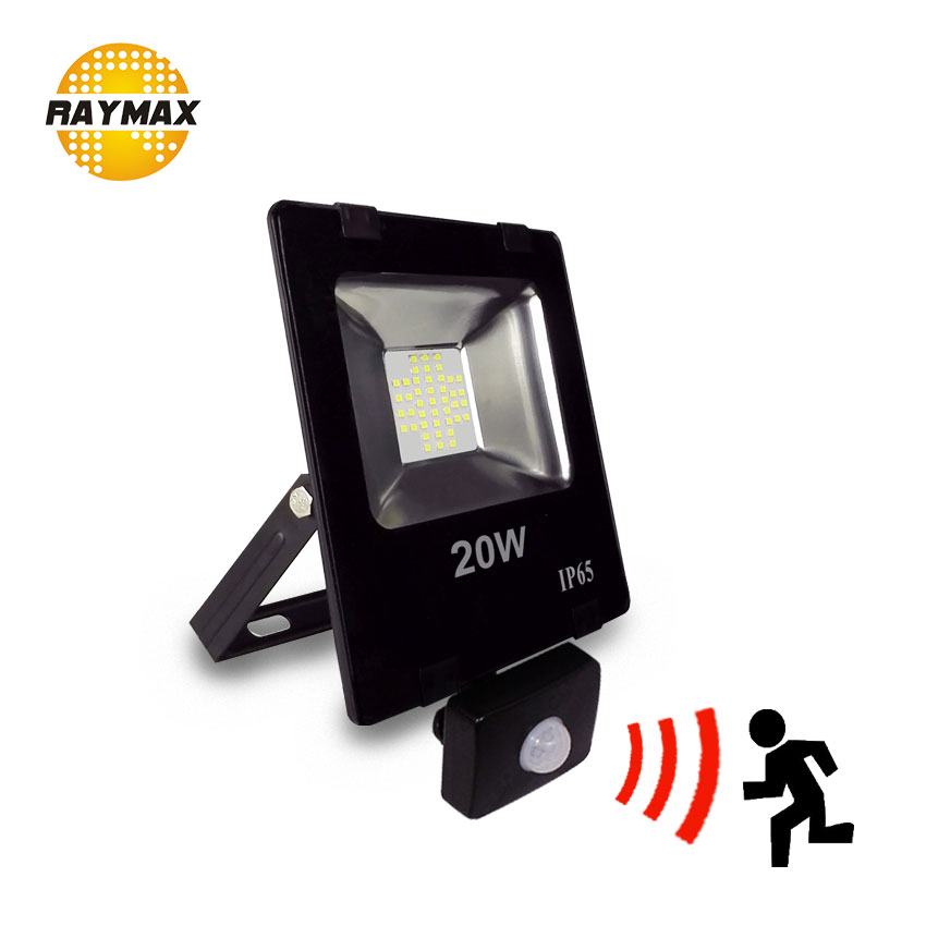 NewArrival Outdoor Led Flood Light with motion sensor PIR sensor led Floodlight IP65 10w 20w 30w 50w led security outdoor