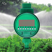 TTLIFE Automatic Electronic LCD Display Intelligent Water Timer Garden Watering Irrigation Controller System Solenoid Valve