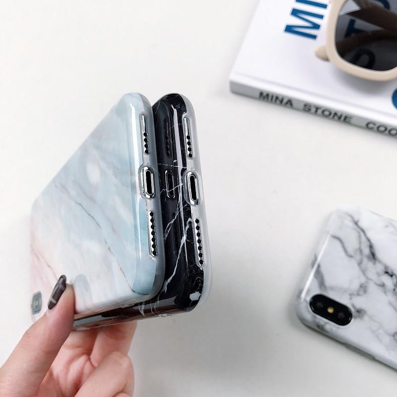Marmorist kaitseümbris iPhone 12 11 6 6s 7 8 Plus X XR XS Max iPhone X 4
